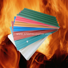 Low-cost Anti-flame Anti-aging MgO Corrugated Roof Sheets