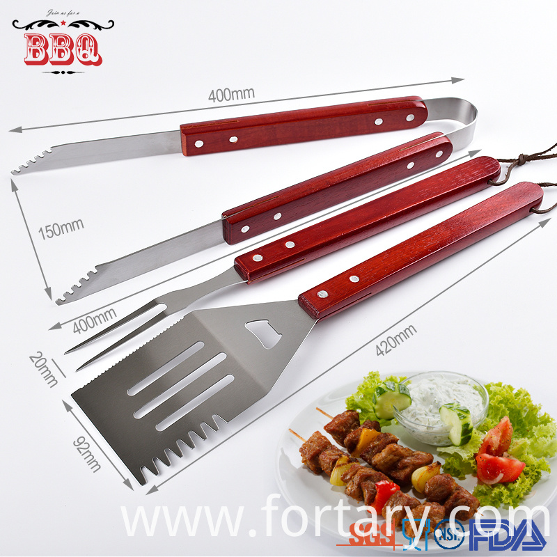 Functional Bbq Tool Set