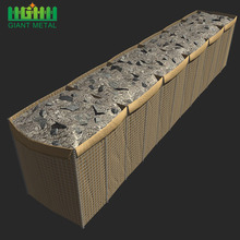 Military Sand Wall Hesco Barrier Sizes and Prices