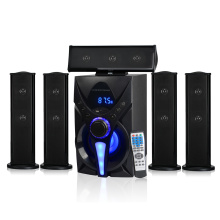 Multimedia speaker with fm mic usb