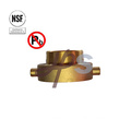 NSF-61 Approved Low Lead Brass Fire Coupling
