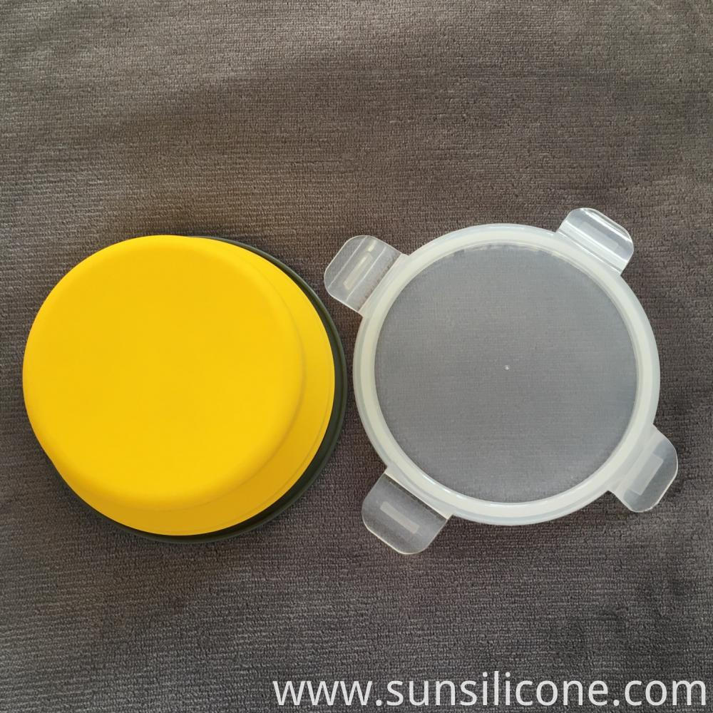 Round Portable Foldable Container