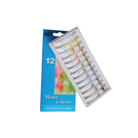 12 Colors 12ml Water Paint Set