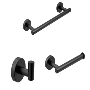 304 Stainless Steel Hook Black Hook Bathroom Accessories