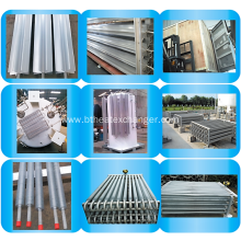 China for Aluminum Extruded Fin Tube with Lined SS Pipe Ambient Vaporizer Parts: Fin tube, Connection Clip supply to Liechtenstein Exporter