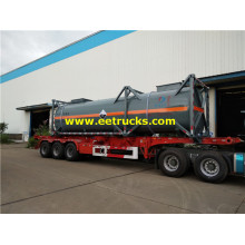 30m3 30ft Sodium Hypochlorite Tank Containers
