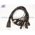 audio cable by DB25 converted to BNC,SMA,DC