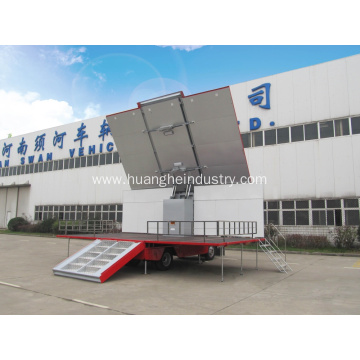 Mobile Stage Truck (Three Sides Open) China Manufacturer