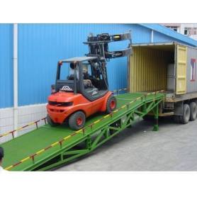12t Truck Portable Loading And Unloading Cargo Ramp