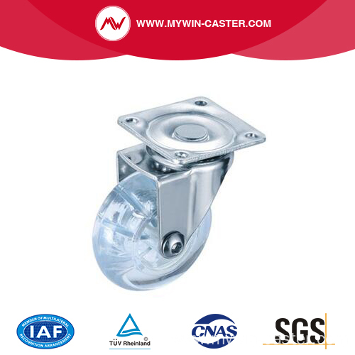 furniture swivel clear caster wheel for chair