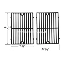 China for BBQ Grill Rack Gloss Cast Iron Replacement Cooking Grates supply to United States Importers