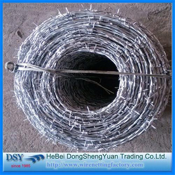 Barbed Wire Price Per Roll Galvanize Wire