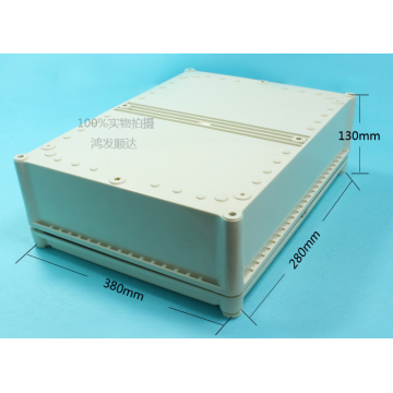 Europe style for for Plastic Enclosure,Junction Box,Connect Box Manufacturers and Suppliers in China Large Junction Box Plastic Enclosure (ECL380X280H130) export to Equatorial Guinea Factories