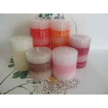 Perfect High Quality Beautiful Layered Pillar Candle