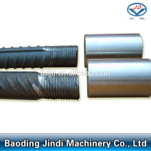Bottom price for Parallel Thread Screw Rebar Coupler Parallel thread coupler for rebar mechanical splicing supply to United States Factories