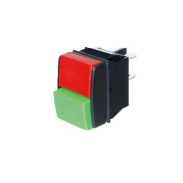 UL Certificated Double Poles Push Button Switch