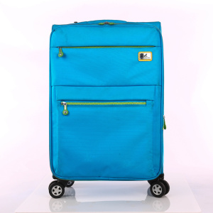 telescopic pull rod colorful spring young man luggage