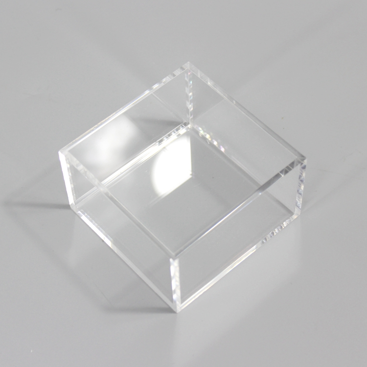 Small Acrylic Cosmetic Display Stand/ counter