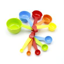 China for Plastic Measuring Cups 10PCS Plastic Measuring Cups and Spoons Set export to Spain Supplier