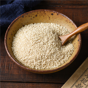 INDIAN WHITE HULLED SESAME SEED