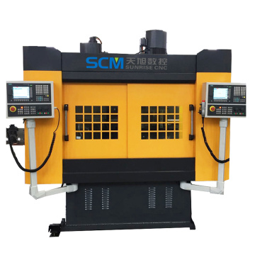 CNC Flange Drilling Machine with Counter Spindle
