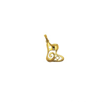 Christmas Stocking Charm Pendant 18 K