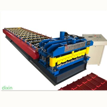 Glazed tile roof forming machine