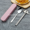 Stainless Steel Flatware Spoon And Chopsticks