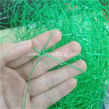 Green plastic trellis netting/green bird net