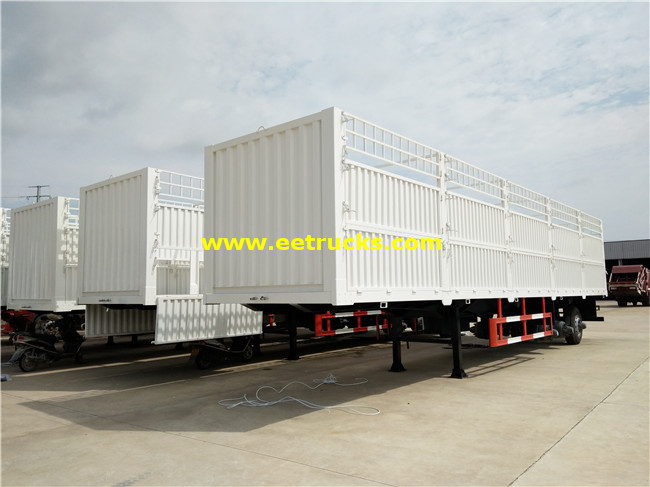 Cargo Box Semi Trailer