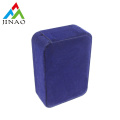 Blue Velvet Plastic Jewelry Box for Necklace