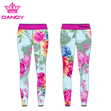 Sublimated Spandex Training Leggings