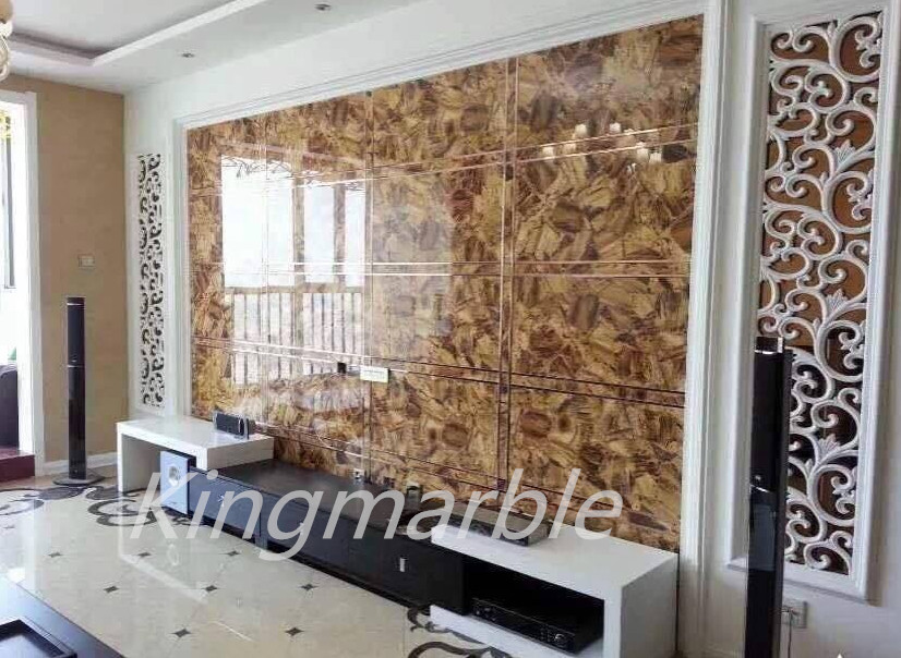 Design UV painted pvc marble panel for decoration