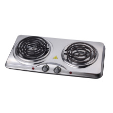 2500W Doubel Household Electric Stove Coiled Plate