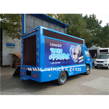 Foton 2 Screen Mobile LED Advertising Trucks