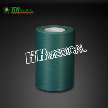 Green Color PE Lamination Viscose For Drape