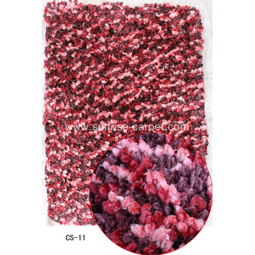spaced dyed yarns Shaggy Rug