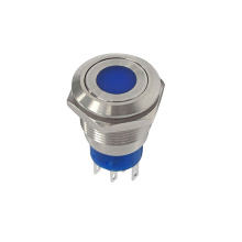 19mm Stainless Flat Anti Vandal Switch
