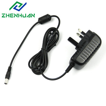 12V 1A 12W CE Aprovado Power Adapter UK