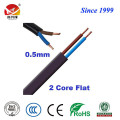RVVB flat flexible PVC insulated sheathed electrical cable