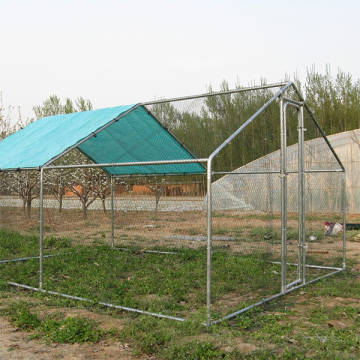 Large Metal Chicken Coop Walk In Animal Enclosure