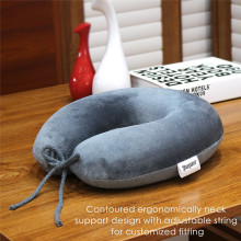 Travel Memory Foam U Shape Neck Pillow