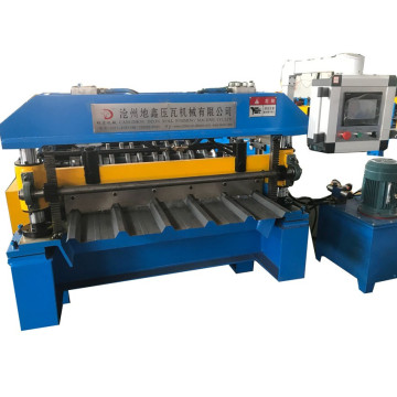 New Six peak trapezoid steel sheet machine