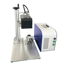 3D Mini Fiber Laser Marking Machine For Metal
