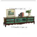 Living Room Cabinet Specific Use and Antique Appearance painted cabinet