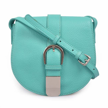 Women Mini-bag Over The Shoulder Leather Saddle Bag