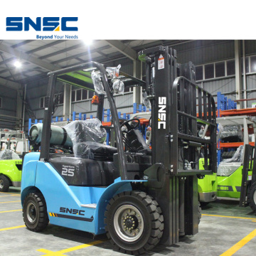Handing Material Machine 2.5Ton Gas Forklift