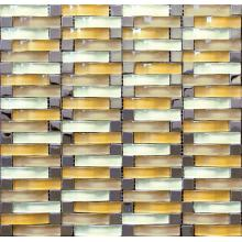 Classic Light Color Arch Glass Mosaic