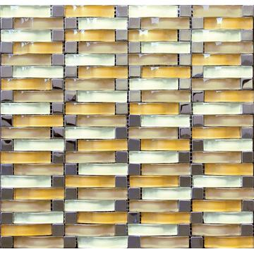 Electroplated Arch Glass Mosaic Tile