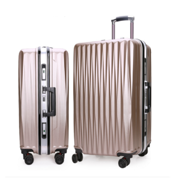 Full metal trolley case Luggage universal wheel